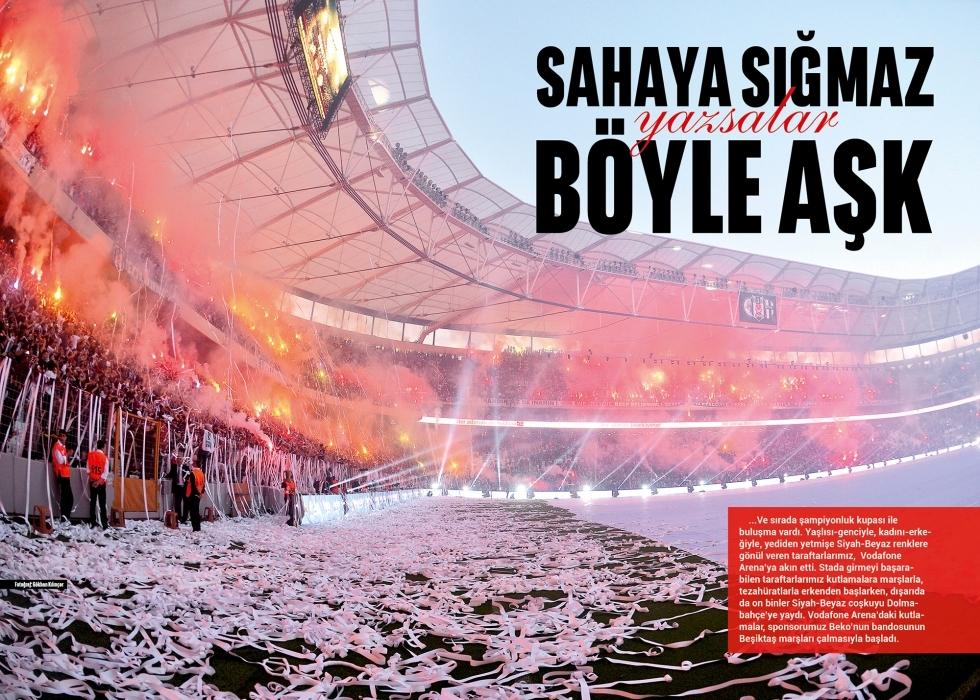 Beşiktaş Dergisi'nin şampiyonluk sayısı 10