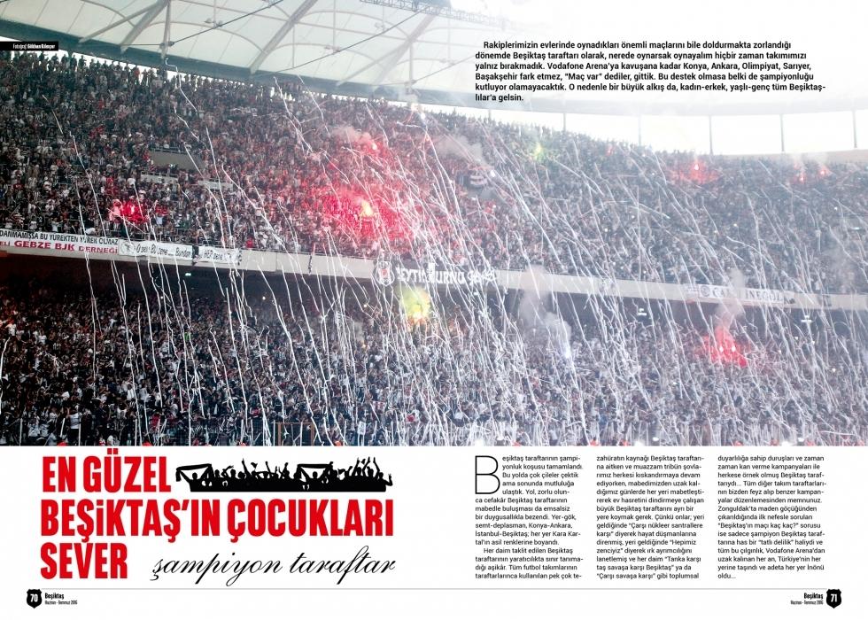 Beşiktaş Dergisi'nin şampiyonluk sayısı 11
