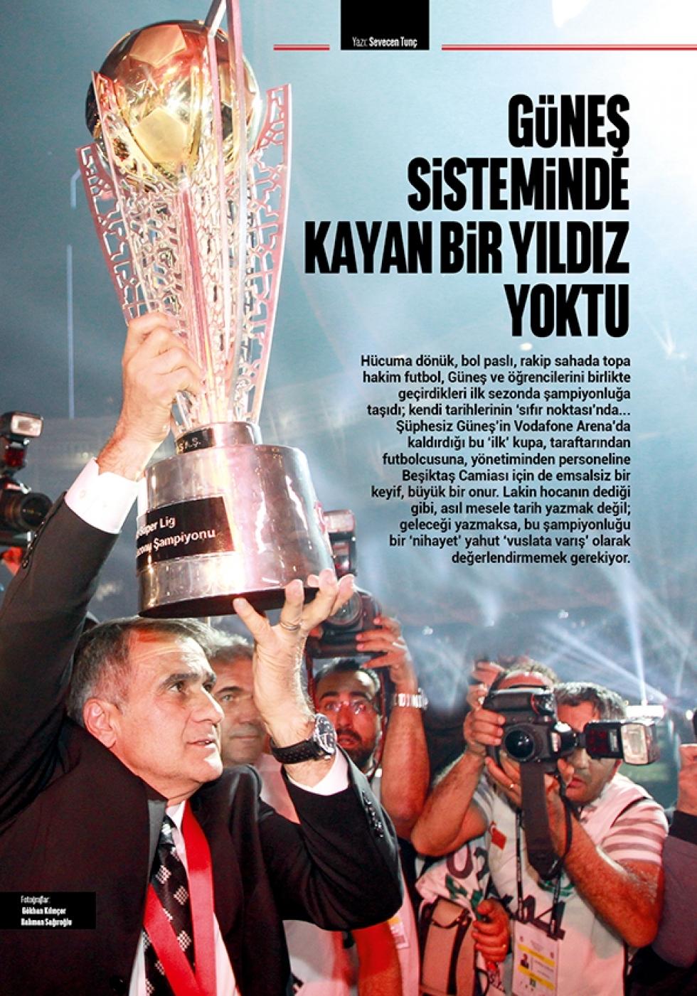 Beşiktaş Dergisi'nin şampiyonluk sayısı 12