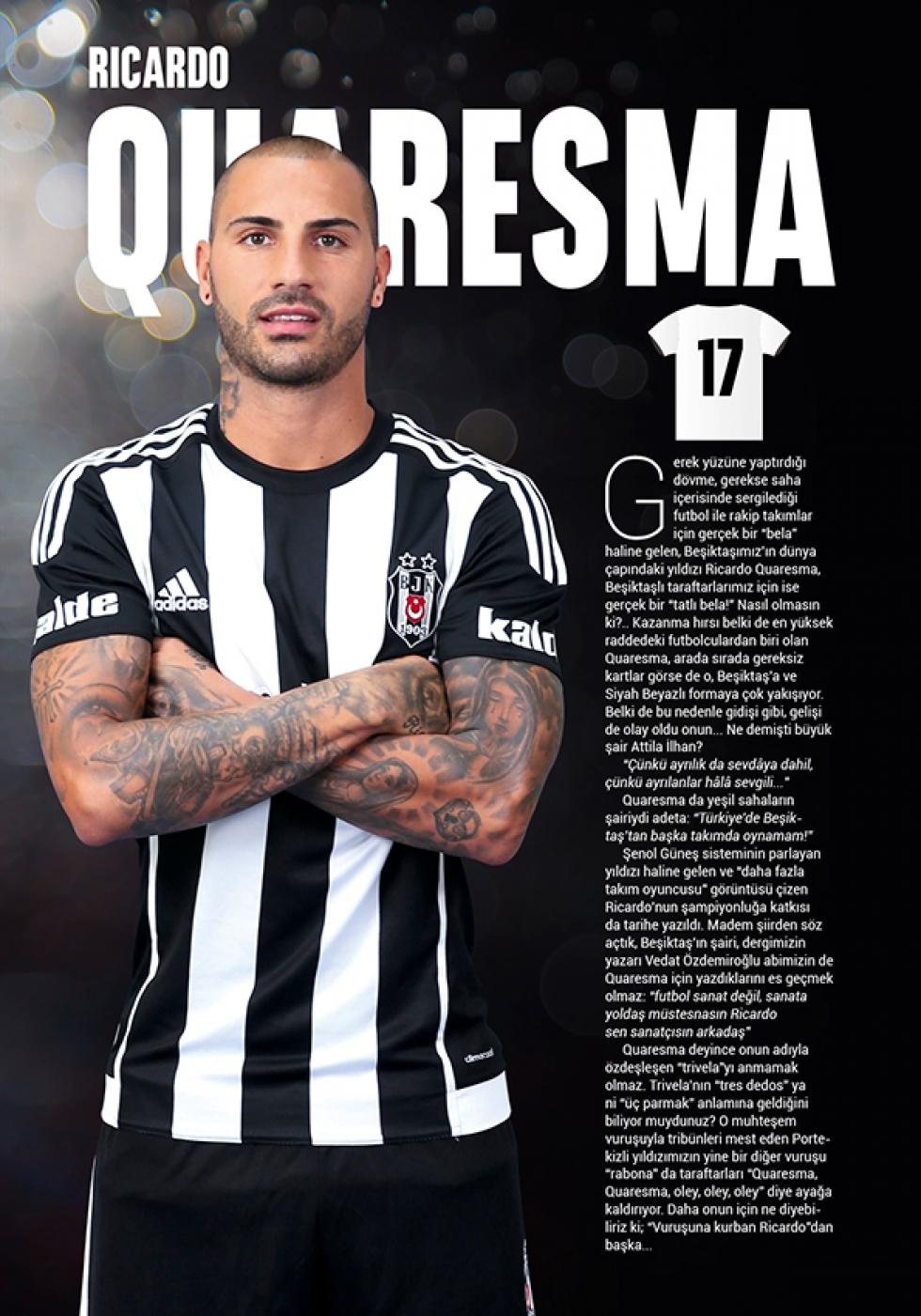 Beşiktaş Dergisi'nin şampiyonluk sayısı 13