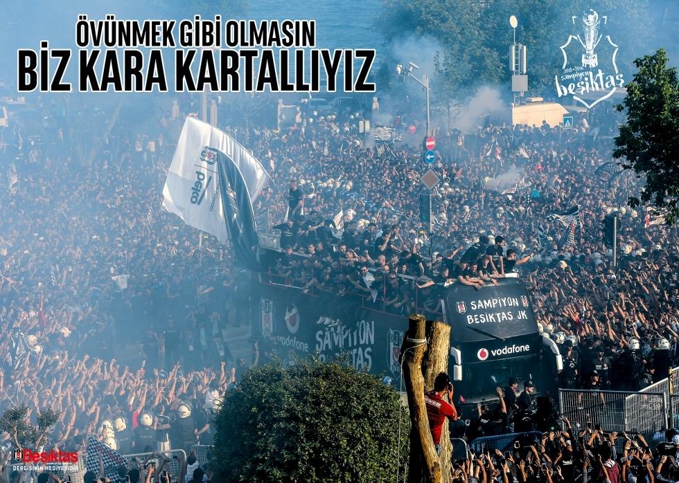 Beşiktaş Dergisi'nin şampiyonluk sayısı 14
