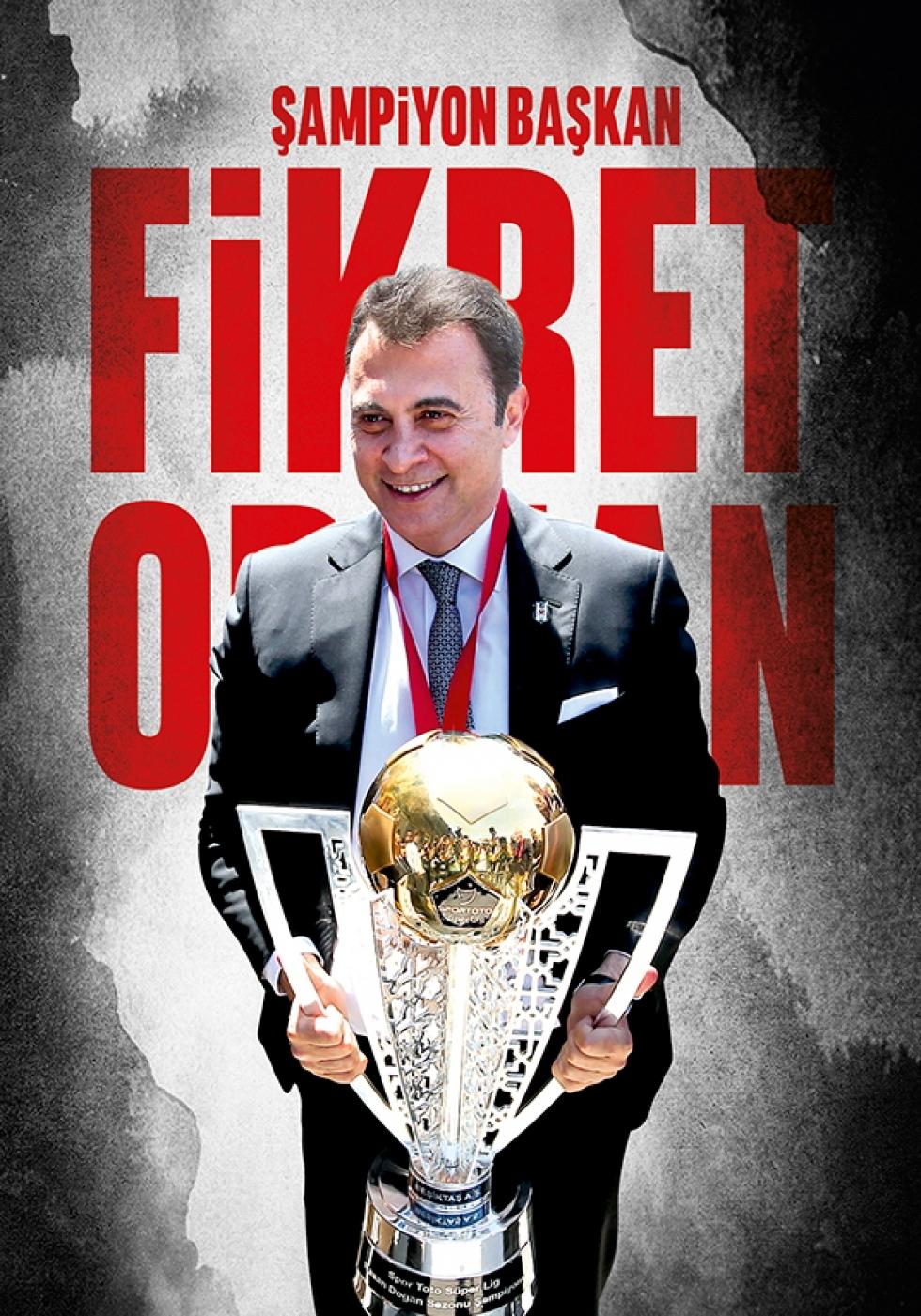 Beşiktaş Dergisi'nin şampiyonluk sayısı 16