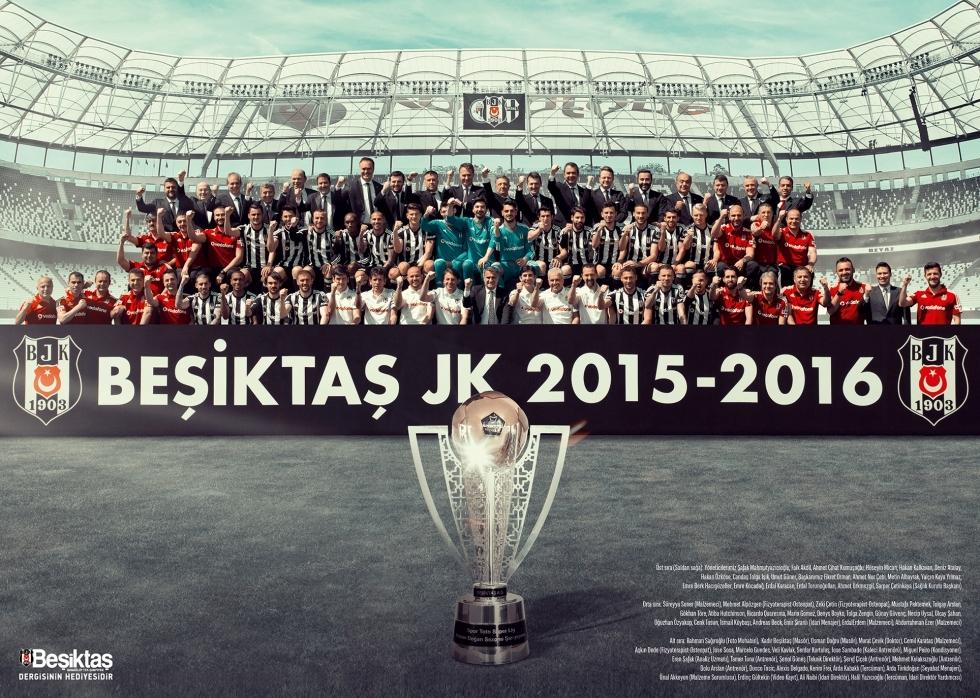 Beşiktaş Dergisi'nin şampiyonluk sayısı 2