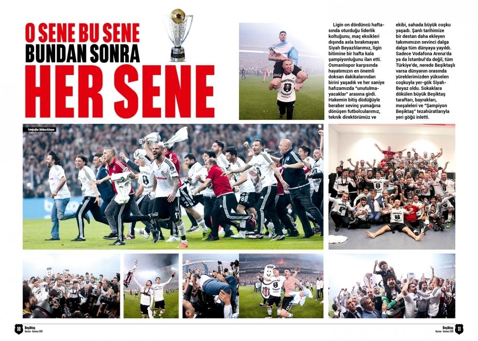 Beşiktaş Dergisi'nin şampiyonluk sayısı 3