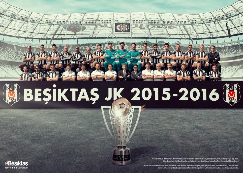 Beşiktaş Dergisi'nin şampiyonluk sayısı 4