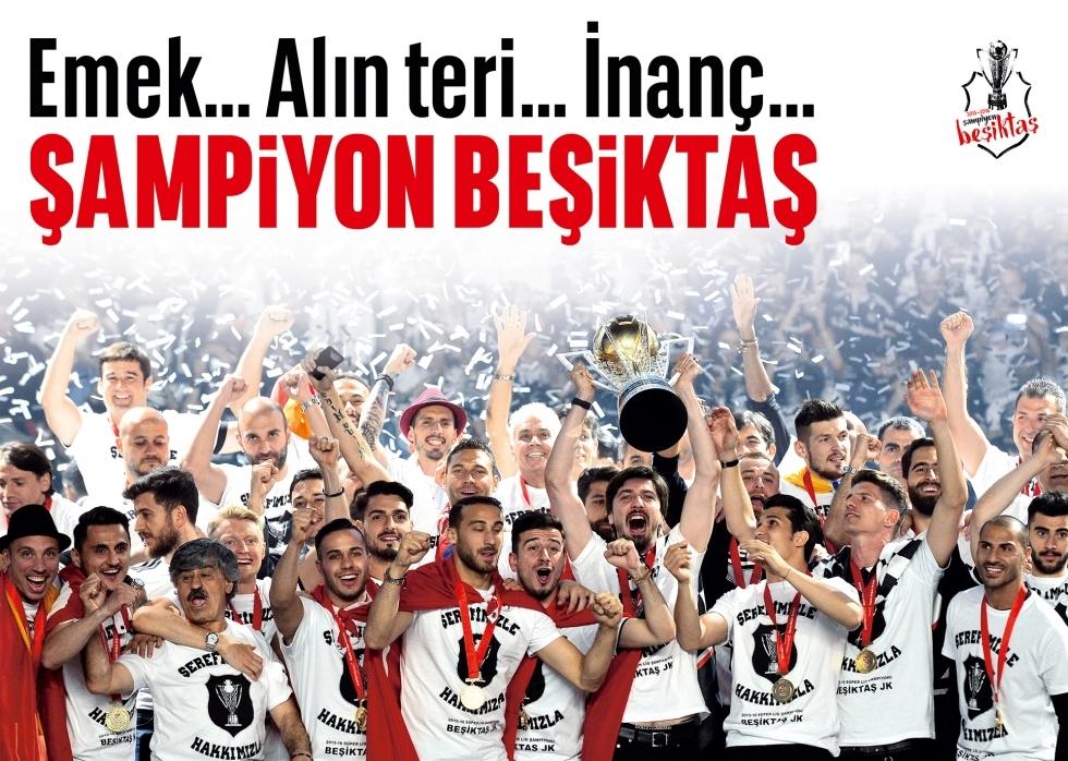 Beşiktaş Dergisi'nin şampiyonluk sayısı 5