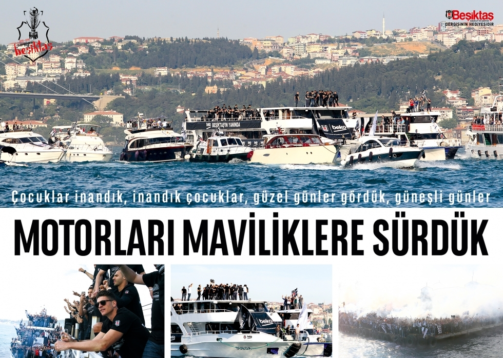 Beşiktaş Dergisi'nin şampiyonluk sayısı 7