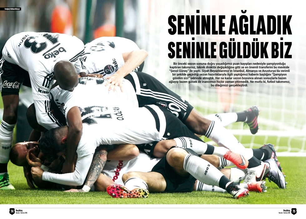 Beşiktaş Dergisi'nin şampiyonluk sayısı 8
