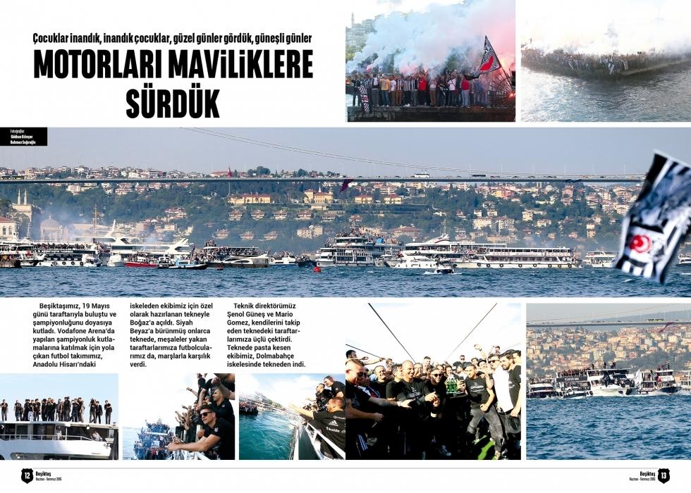 Beşiktaş Dergisi'nin şampiyonluk sayısı 9