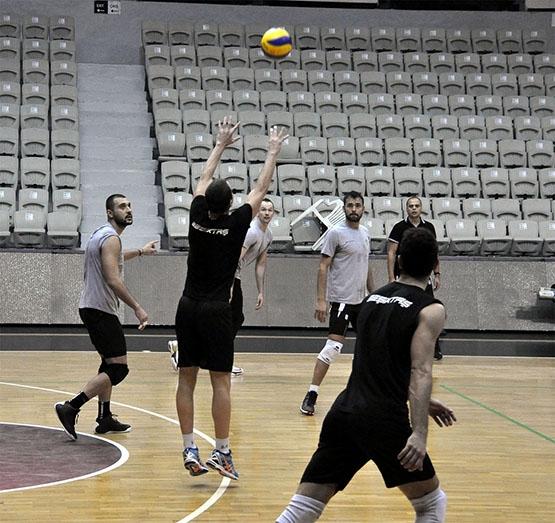 Galatasaray maçı hazırlıklarından kareler 1