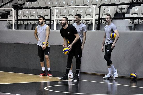 Galatasaray maçı hazırlıklarından kareler 9