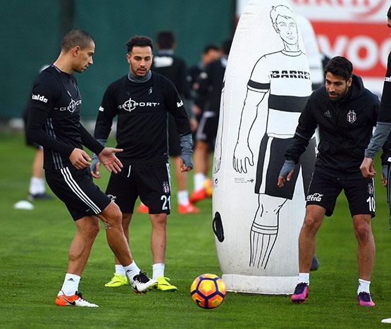 Beşiktaş akşam antrenmanından kareler 5