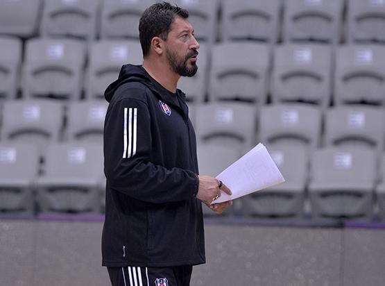 Beşiktaş'ta Darüşşafaka Doğuş maçı hazırlıkları başladı 5