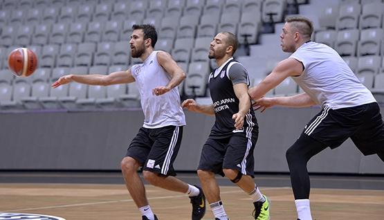 Beşiktaş'ta Darüşşafaka Doğuş maçı hazırlıkları başladı 9