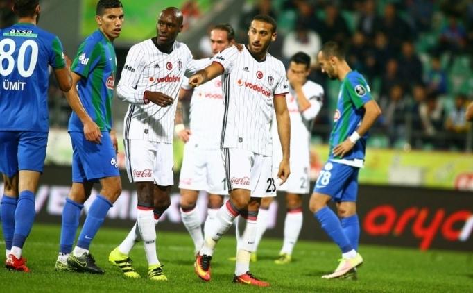 Çaykur Rizespor-Beşiktaş maçı 2