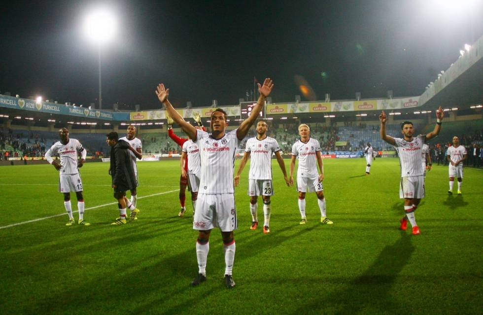 Çaykur Rizespor-Beşiktaş maçı 4