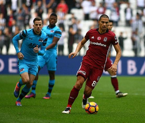 Beşiktaş-AZ Alkmaar maçından kareler 22