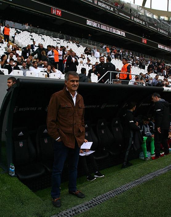 Beşiktaş-AZ Alkmaar maçından kareler 3