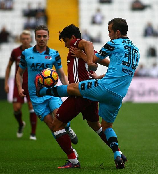 Beşiktaş-AZ Alkmaar maçından kareler 31