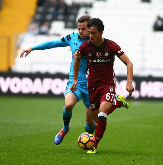 Beşiktaş-AZ Alkmaar maçından kareler 32