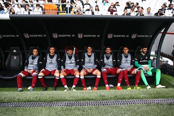 Beşiktaş-AZ Alkmaar maçından kareler 6