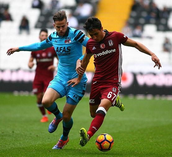 Beşiktaş-AZ Alkmaar maçından kareler 8