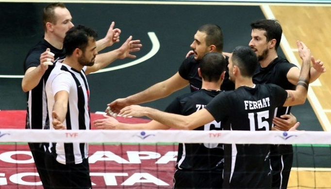 Galatasaray-Beşiktaş voleybol maçından kareler 1
