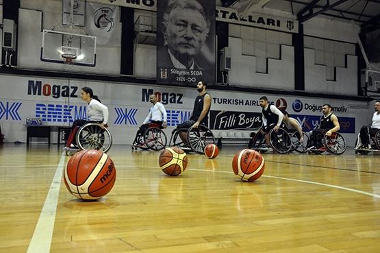 Beşiktaş'ta TSK Rehabilitasyon MSK maçı hazırlıkları sürüyor 3