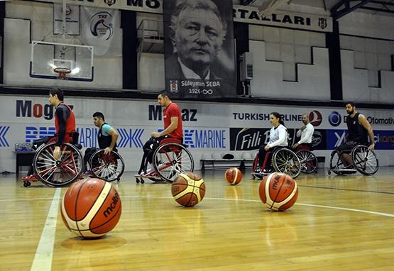Beşiktaş'ta TSK Rehabilitasyon MSK maçı hazırlıkları sürüyor 9