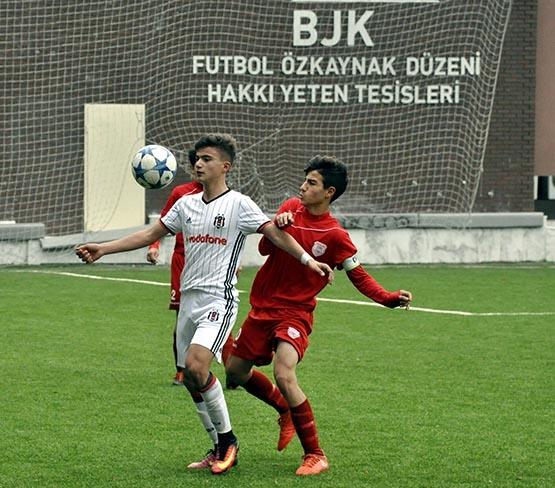 Beşiktaş:3 Pendikspor:0 (U-14) 11