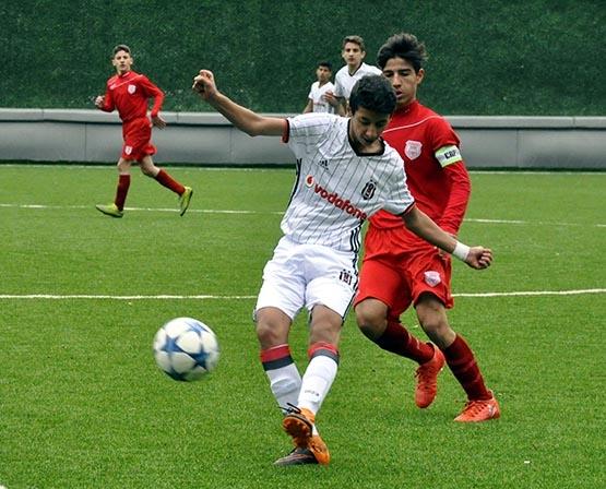 Beşiktaş:3 Pendikspor:0 (U-14) 2