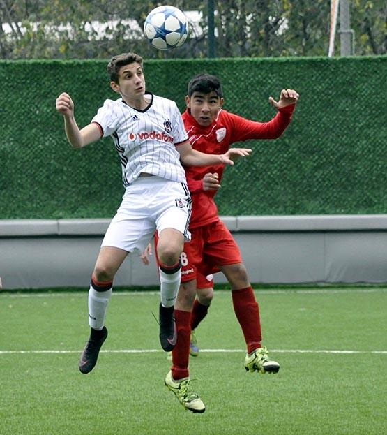 Beşiktaş:3 Pendikspor:0 (U-14) 4