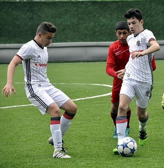 Beşiktaş:3 Pendikspor:0 (U-14) 7