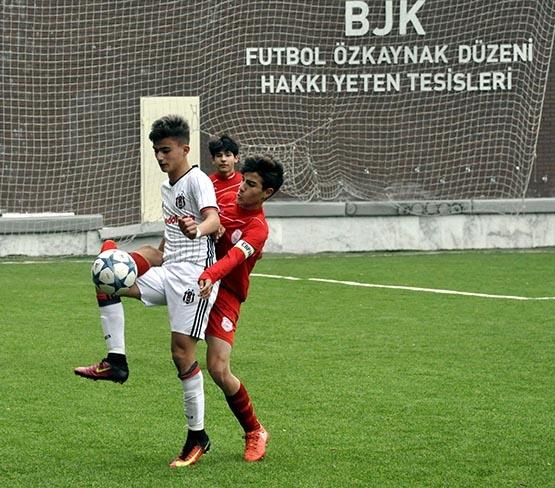 Beşiktaş:3 Pendikspor:0 (U-14) 8