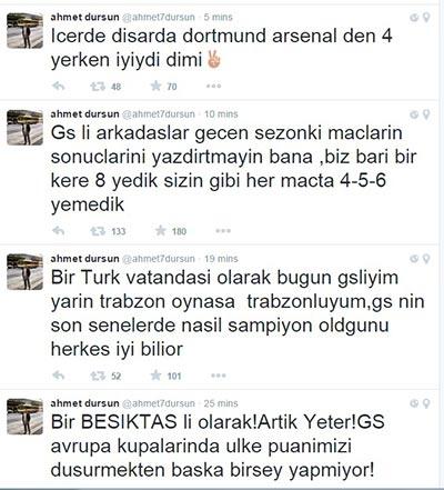 Beşiktaş'ın eski futbolcularının unutulmayan paylaşımları 5