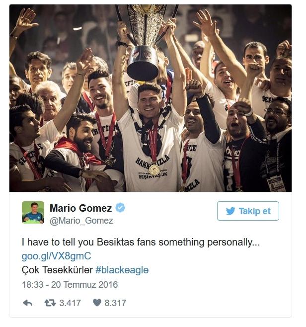 Beşiktaş'ın eski futbolcularının unutulmayan paylaşımları 9