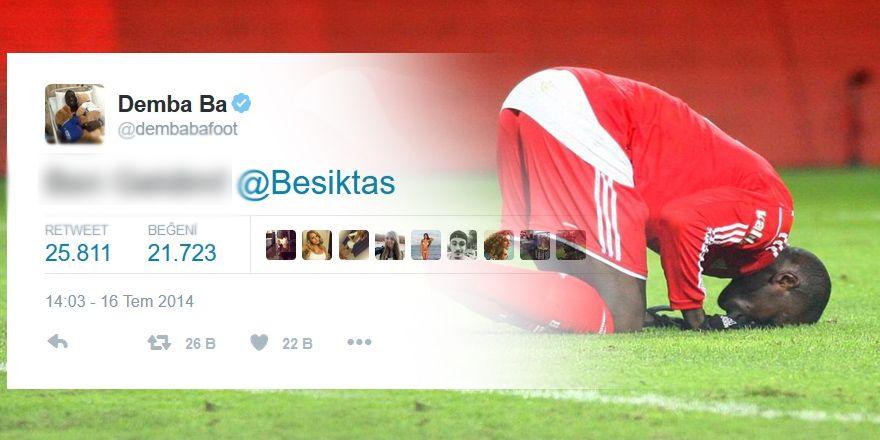 Beşiktaş'ın eski futbolcularının unutulmayan paylaşımları