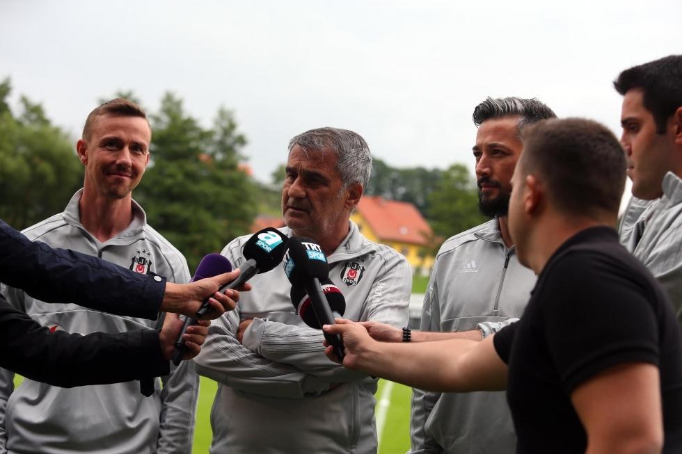 Beşiktaş'ın Avusturya kampı başladı! İşte antrenmandan kareler 1