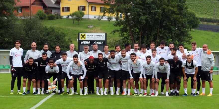 Beşiktaş'ın Avusturya kampı başladı! İşte antrenmandan kareler