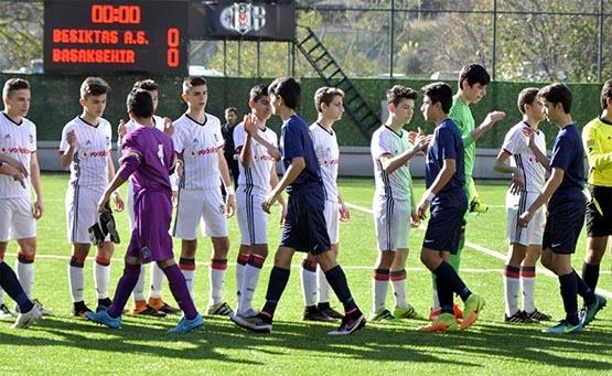 Beşiktaş ile M.Başakşehir berabere kaldı (U-14) 2