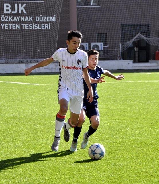 Beşiktaş ile M.Başakşehir berabere kaldı (U-14) 4