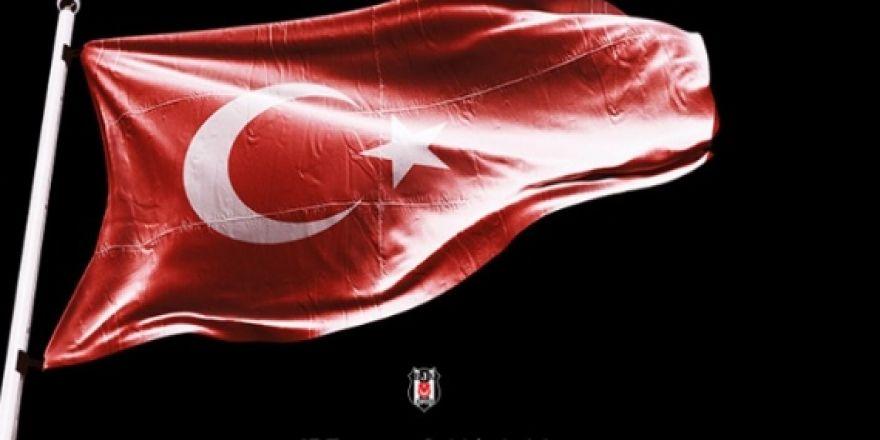 Beşiktaşlı futbolculardan #15Temmuz paylaşımları