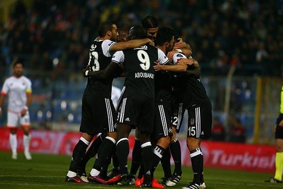 Adanaspor-Beşiktaş maçından kareler 10