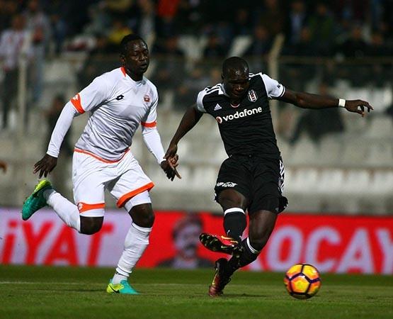 Adanaspor-Beşiktaş maçından kareler 12