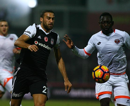 Adanaspor-Beşiktaş maçından kareler 17