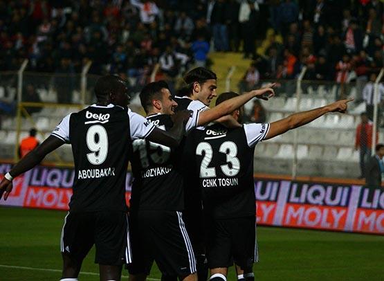 Adanaspor-Beşiktaş maçından kareler 2