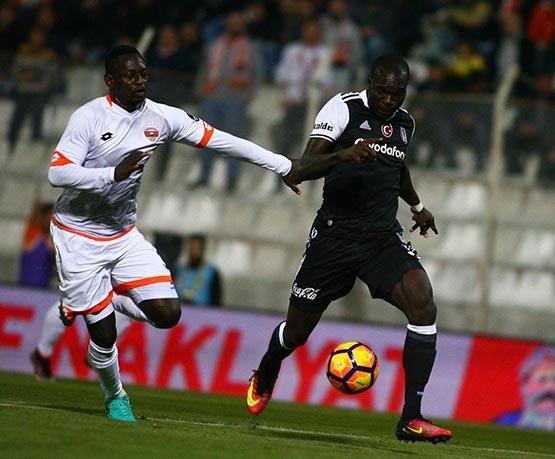 Adanaspor-Beşiktaş maçından kareler 29