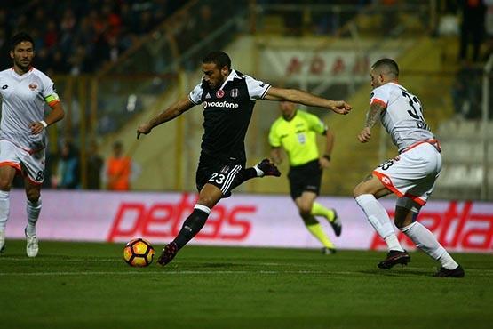 Adanaspor-Beşiktaş maçından kareler 34