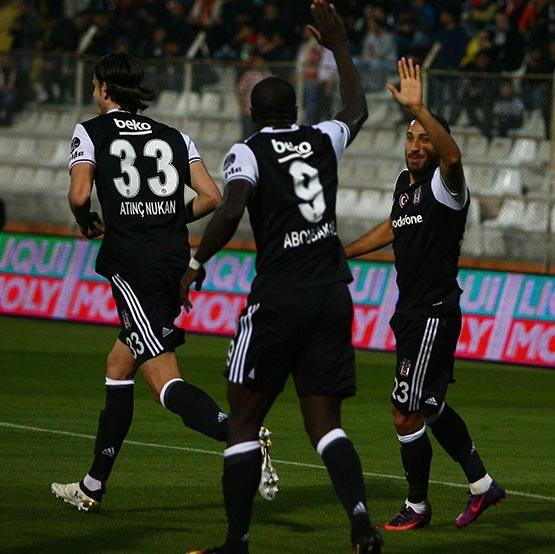 Adanaspor-Beşiktaş maçından kareler 7
