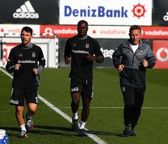 Beşiktaş'ta Benfica maçı hazırlıkları başladı 6